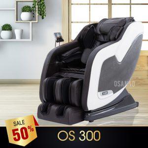 GHẾ MASSAGE OSANNO OS-300 (TRẮNG)