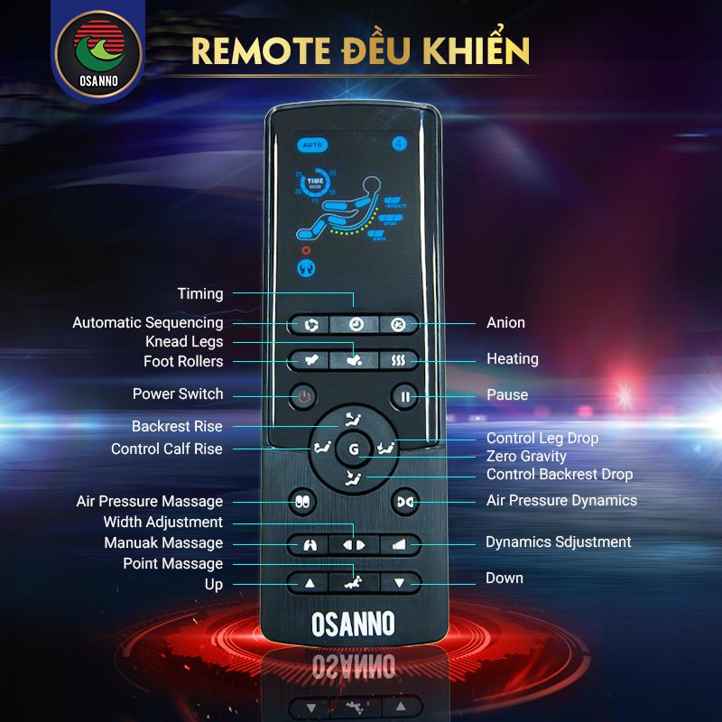 bảng remote điều khiển