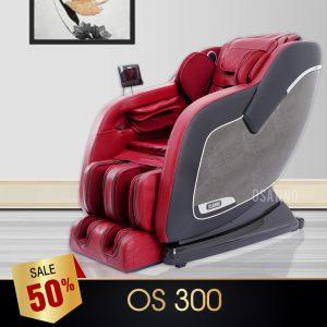 GHẾ MASSAGE OSANNO OS-300 (ĐỎ)