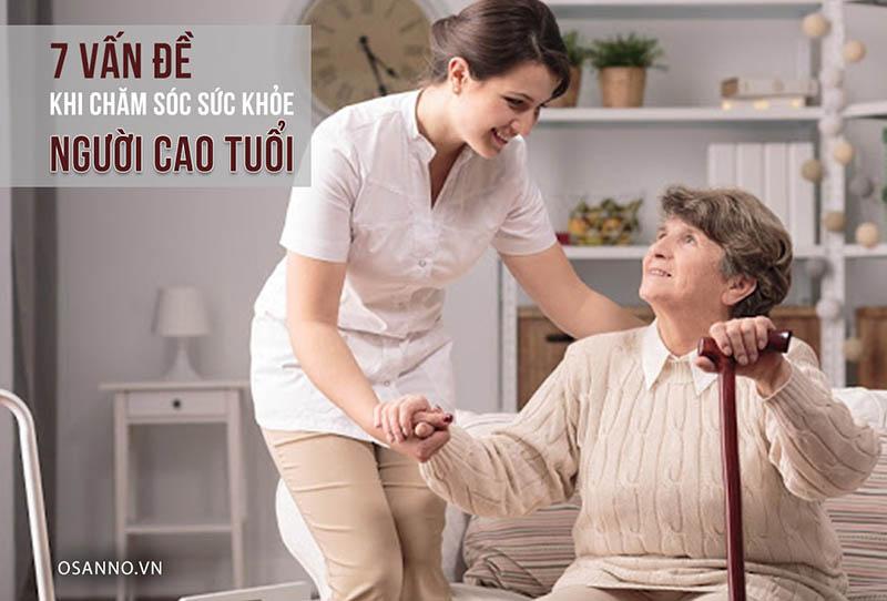 Những cách chăm sóc sức khỏe người cao tuổi hiệu quả