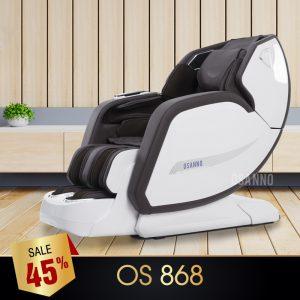 GHẾ MASSAGE OSANNO OS-868 (TRẮNG)