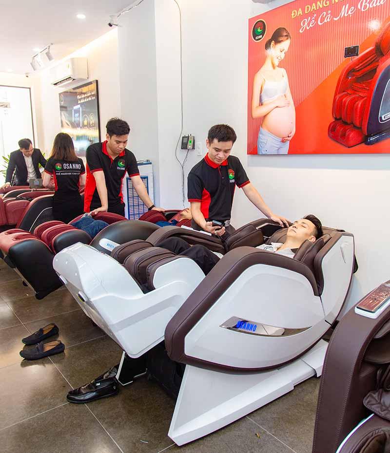 Ghế massage Osanno bảo hành lên đến 6 năm.