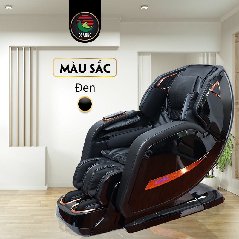 Ghế massage Osanno Os 868 màu đen