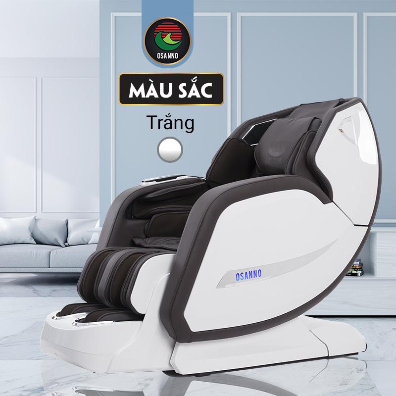 Ghế massage màu trắng