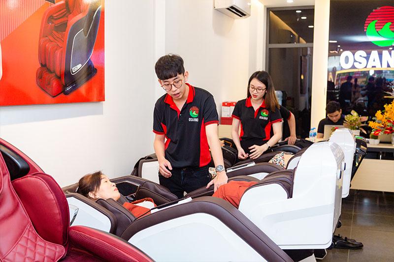 Thương hiệu ghế massage Osanno đến từ Nhật Bản