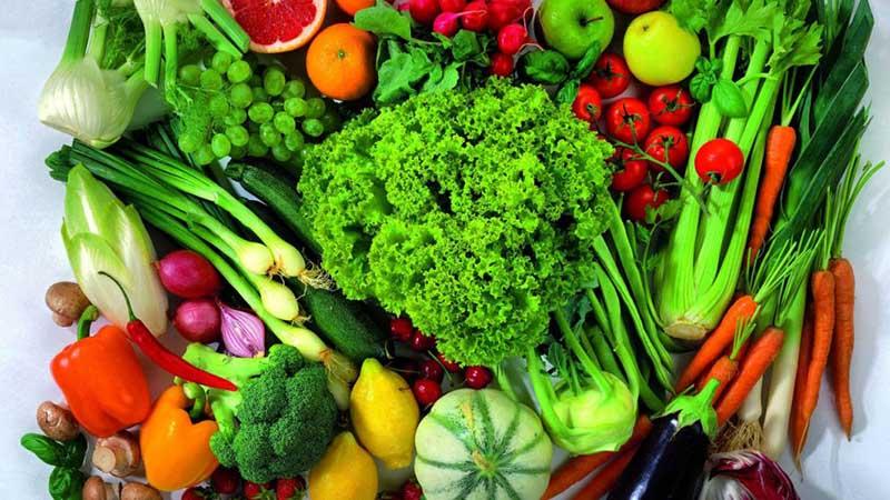 Ăn nhiều rau củ giúp chăm sóc sức khỏe người cao tuổi