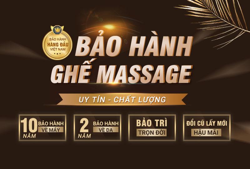 Chính sách bảo hành ghế Massage Osanno