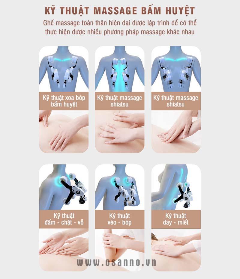 Ghế massage osanno OS 250