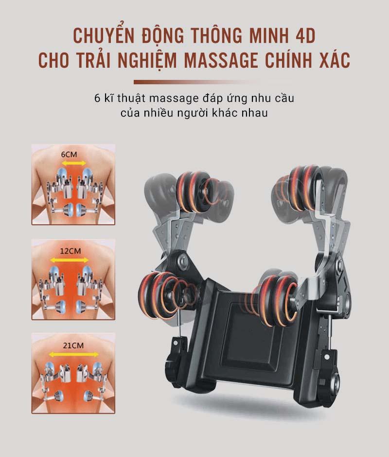 Ghế massage osanno toàn thân OS 750