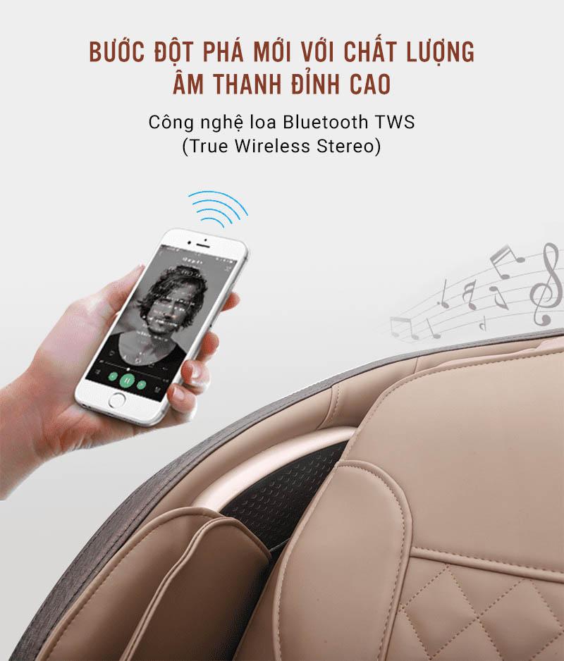 ghế massage Osanno Os 750 cho cảm giác thư giãn đỉnh cao cùng công nghệ mới