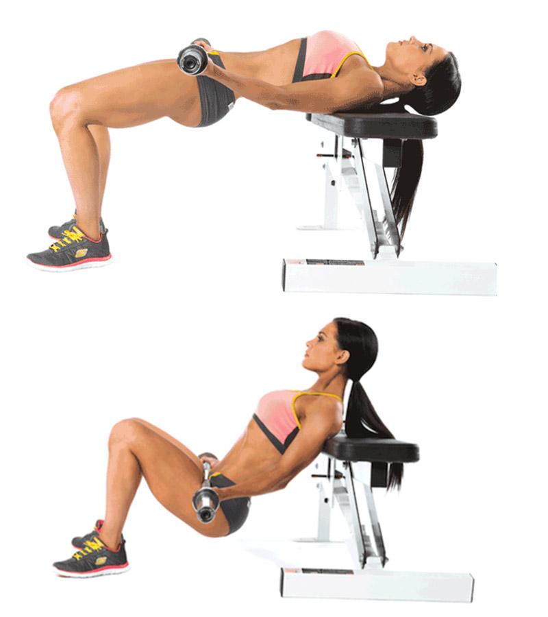 Những bài tập nâng cơ mông cơ bản