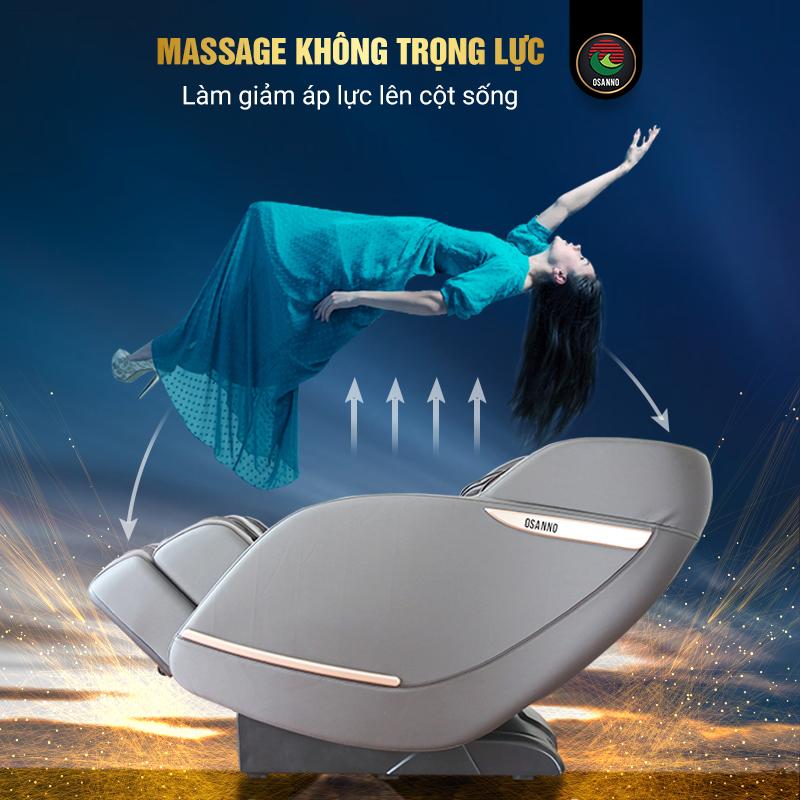 Ghế massage không trọng lực cao cấp chất lượng