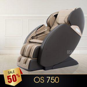 GHẾ MASSAGE OSANNO OS-750 (NÂU)