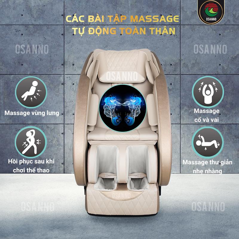 Các bài tập massage tự động của OS-100