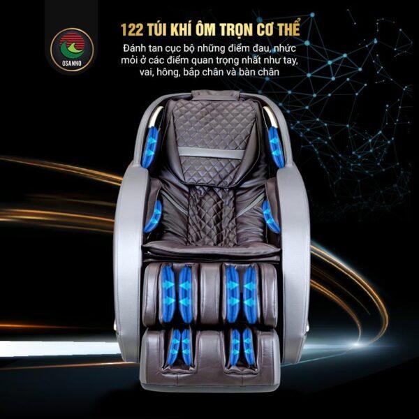 Túi khí trên ghế massage OS 200