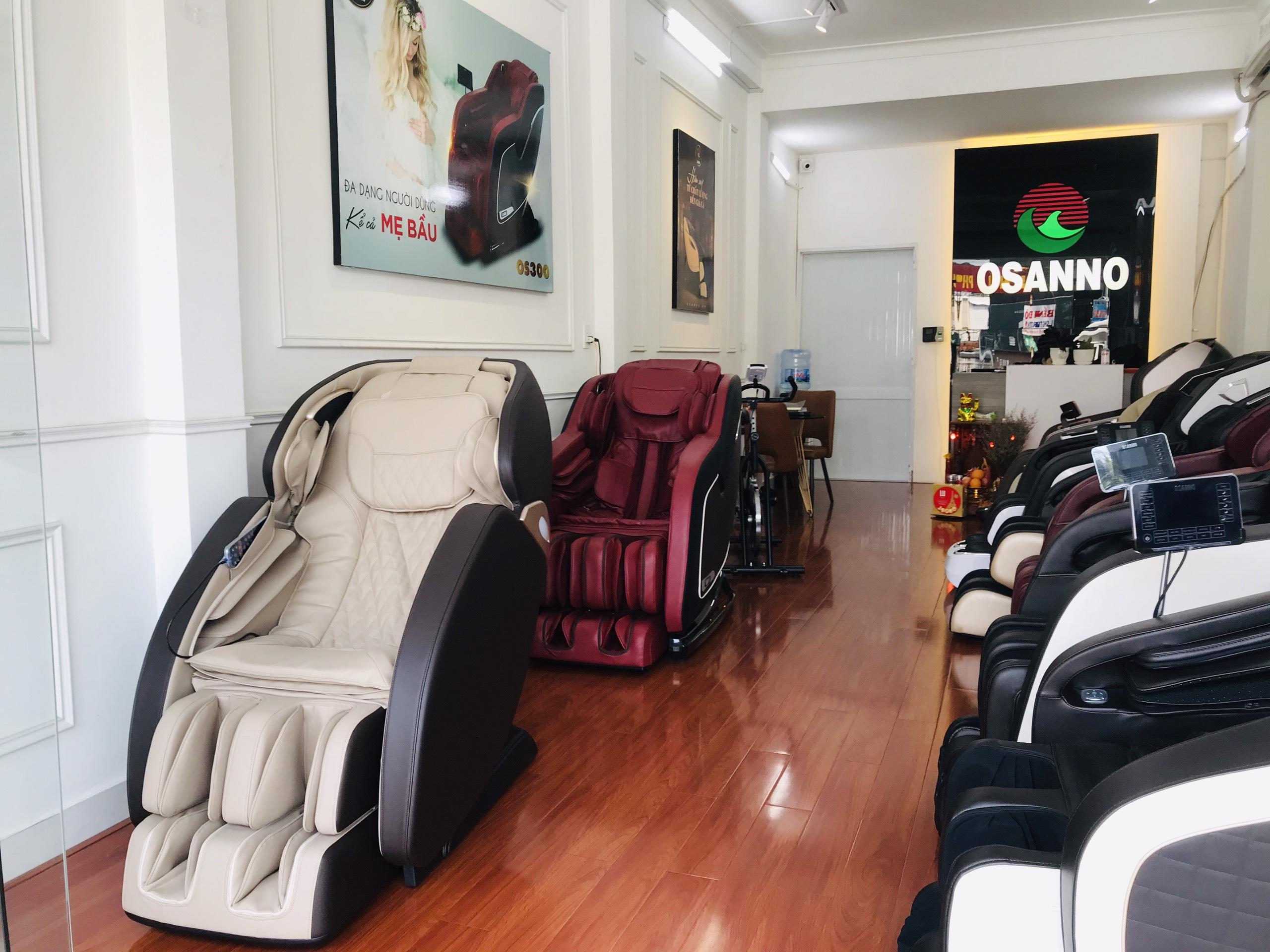 hệ thống showroom ghế massage toàn thân OSANNO