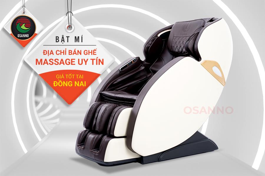 địa chỉ bán ghế massage uy tín giá tốt tại Đồng Nai