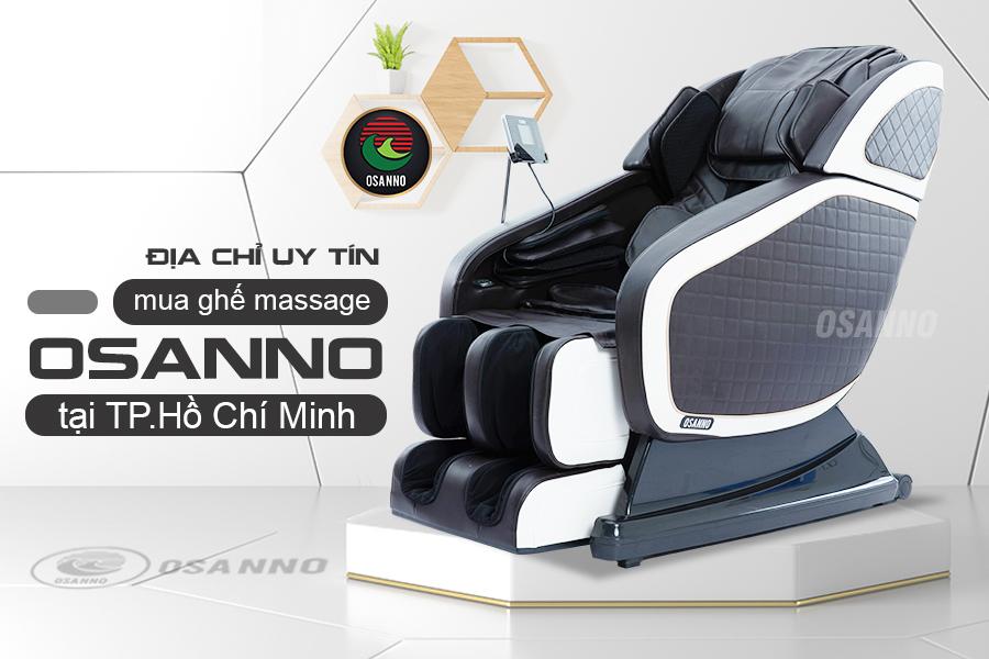địa chỉ uy tín mua ghế massage chính hãng OSANNO tại TP.HCM