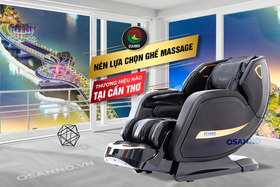 Ghế massage thương hiệu Osanno tại Cần Thơ