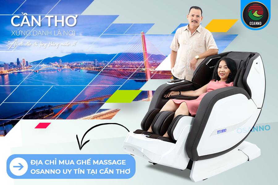 địa chỉ mua ghế massage Osanno uy tín tại Cần Thơ
