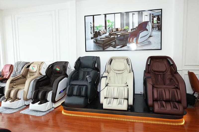 Ghế massage OSANNO công nghệ Nhật Bản chính hãng tại TP.HCM