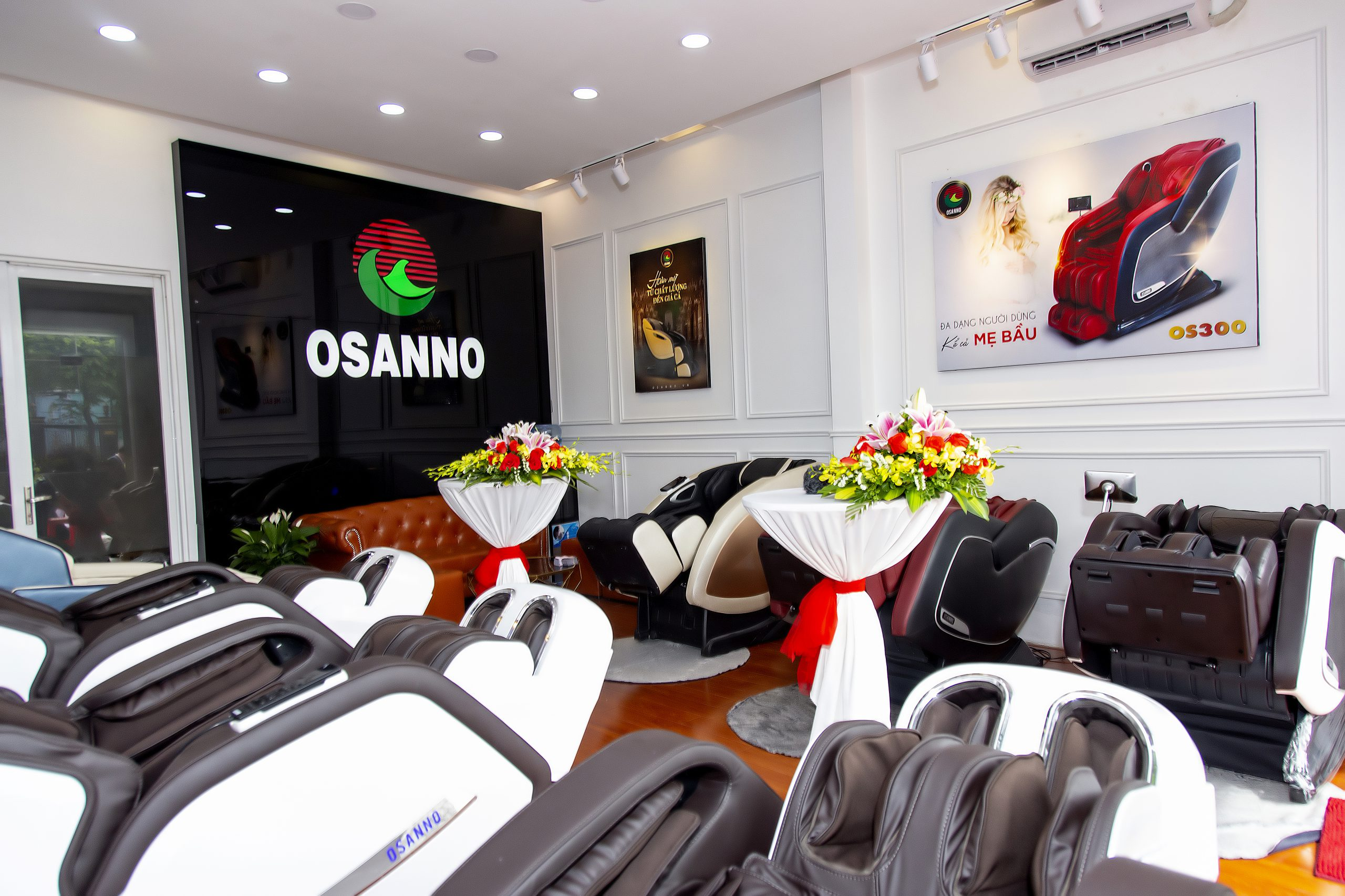 showroom ghế massage Osanno An Giang