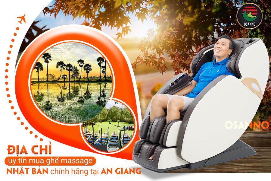 Địa chỉ bán ghế massage Nhật Bản tại An Giang