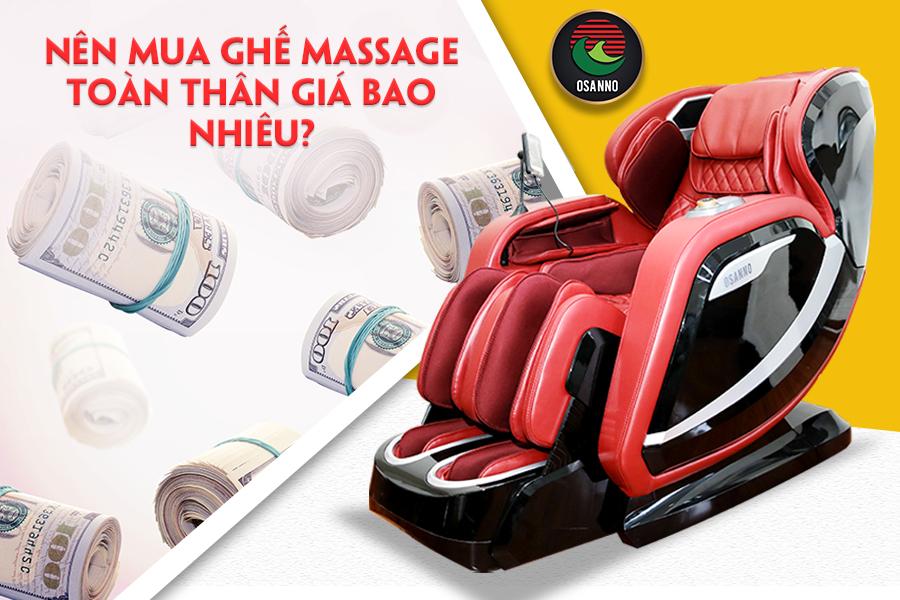mua ghế massage toàn thân