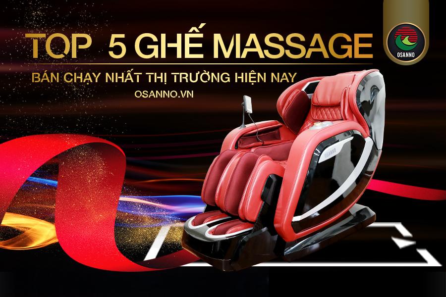 top 5 ghế massage bán chạy nhất