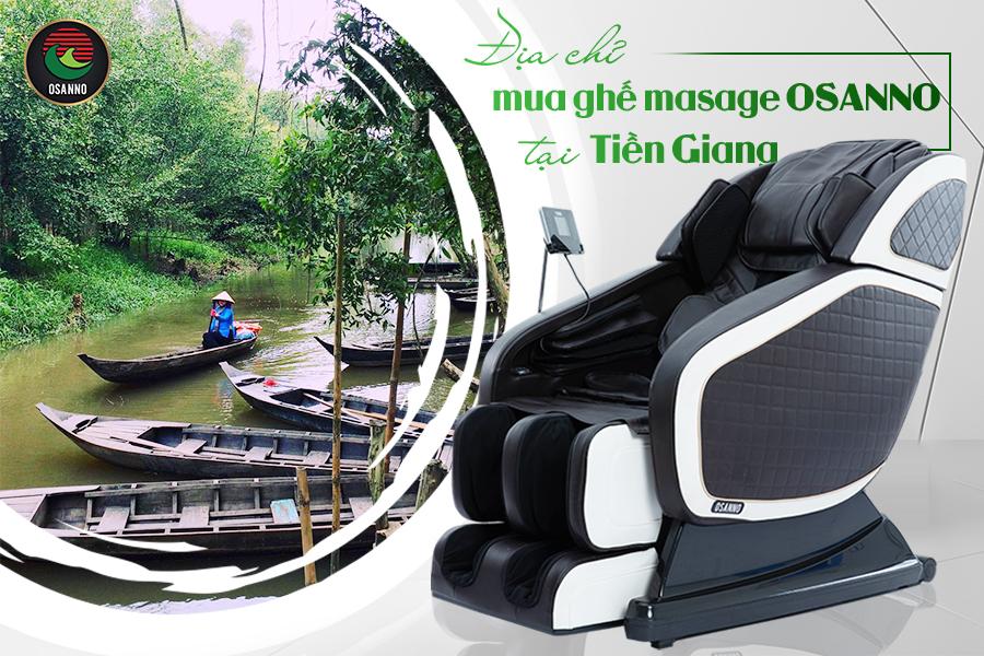 địa chỉ mua ghế massage Osanno tại Tiền Giang