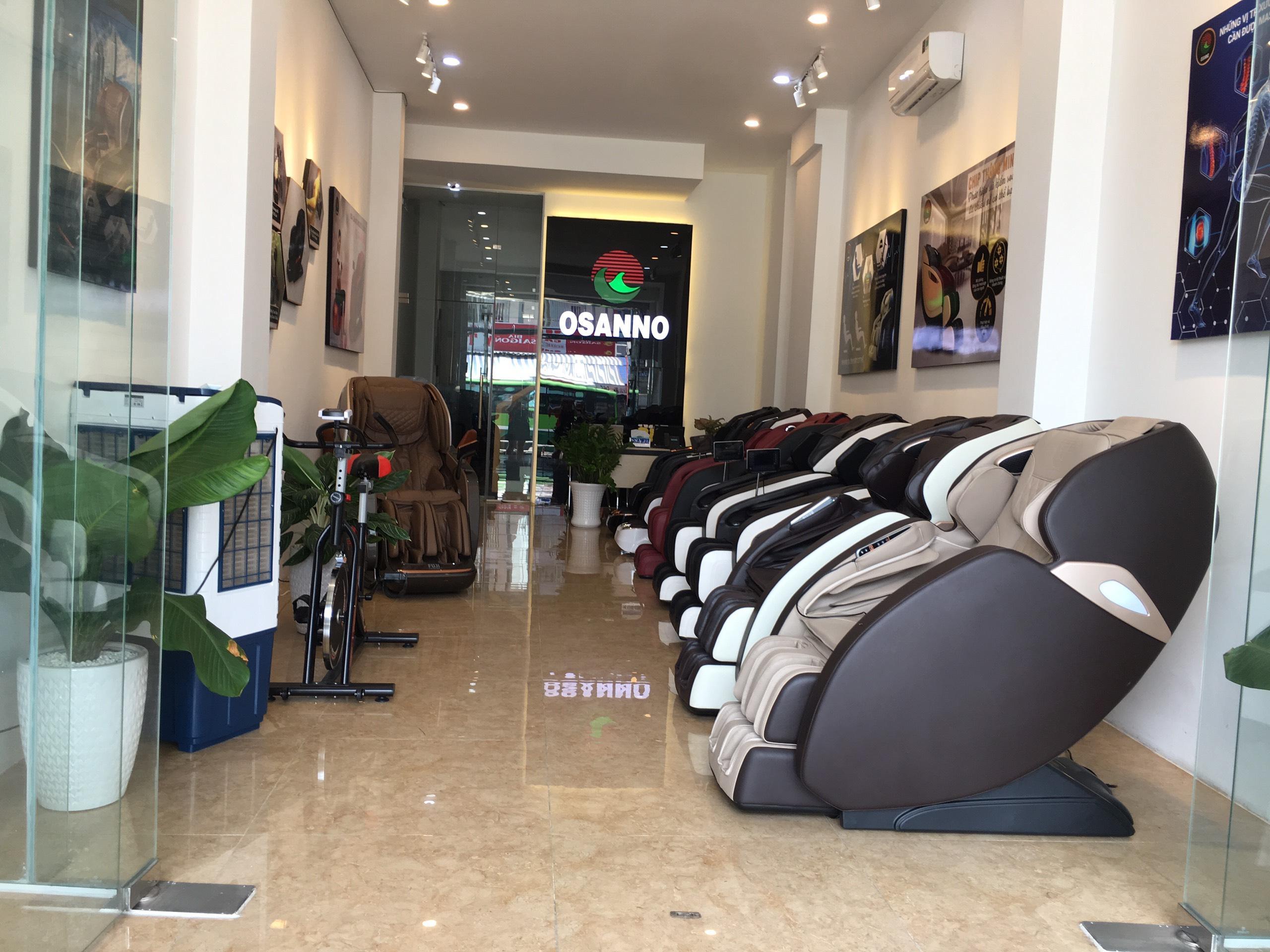 Showroom ghế massage Osanno tại Bình Dương