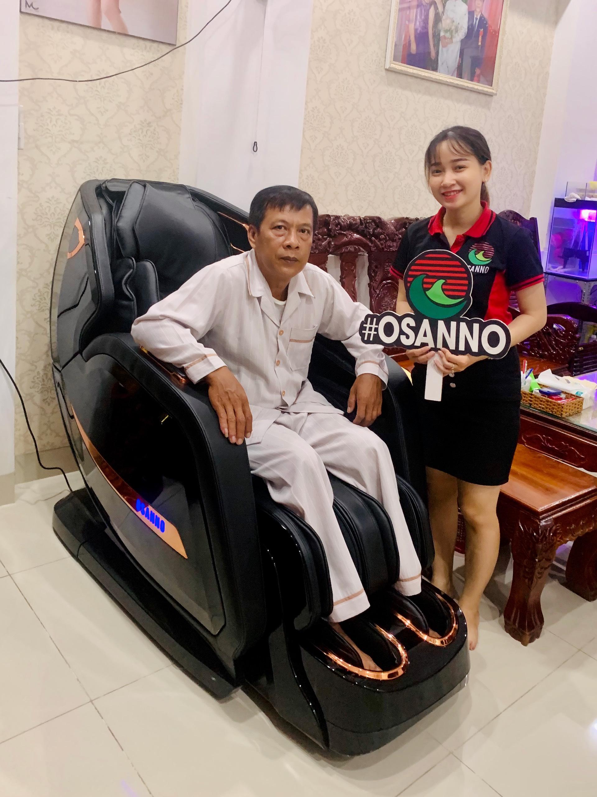 Ghế massage Osanno, đẳng cấp công nghệ được khách hàng tin dùng
