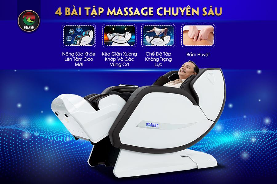 4 bai tập massage trị liệu chuyên sâu