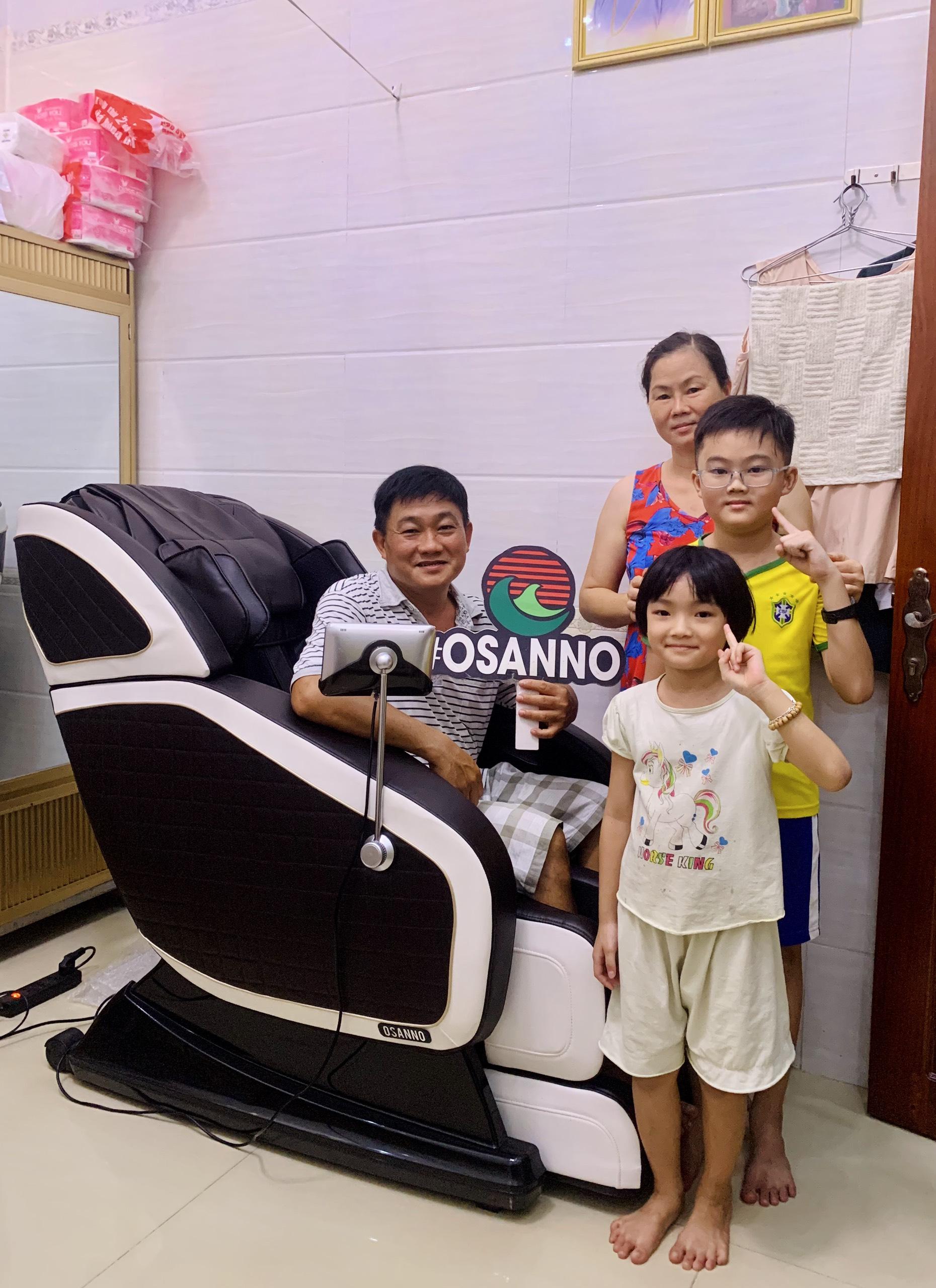 Ghế massage toàn thân Osanno, sản phẩm đảm bảo sức khỏe cho cả gia đình!