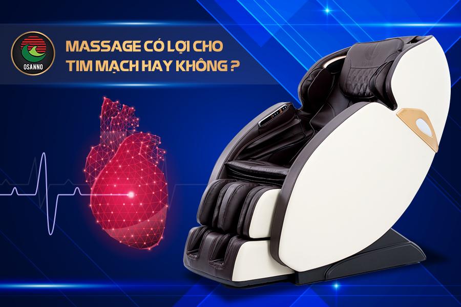 massage có lợi cho hệ tim mạch hay không