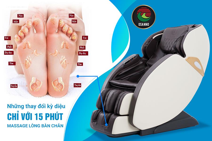 Massage lòng bàn chân mỗi ngày