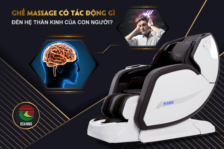 massage có tác động gì đến hệ thần kinh