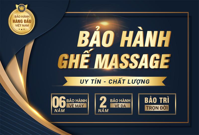 Chính sách bảo hành của ghế massage Osanno