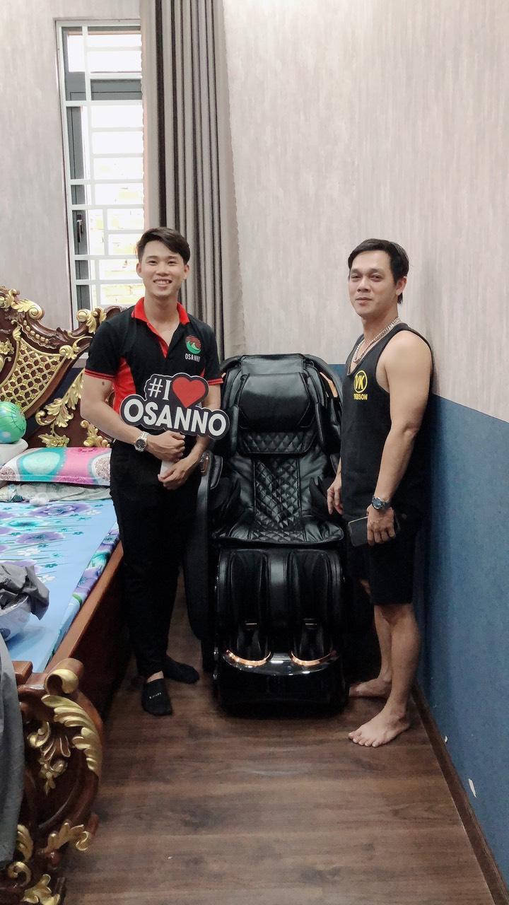 ghế massage Osanno OS-868, chuyên gia hỗ trợ phục hồi cho người Việt