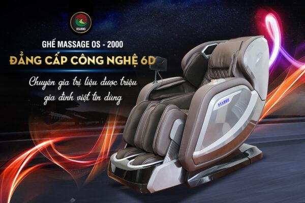 Top 3 loại ghế massage bán chạy nhất hiện nay