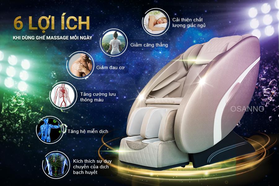 Những lợi ích của massage đối với sức khỏe
