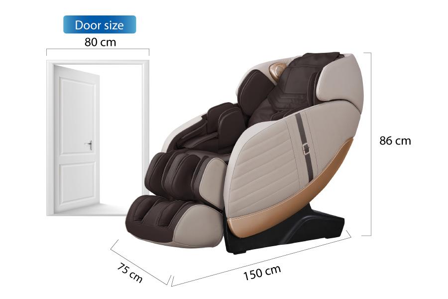 Kích thước ghế massage Os 999
