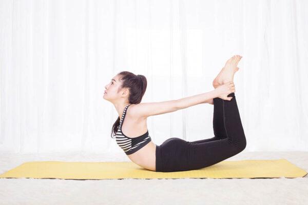 5 bài tập yoga tốt cho cột sống