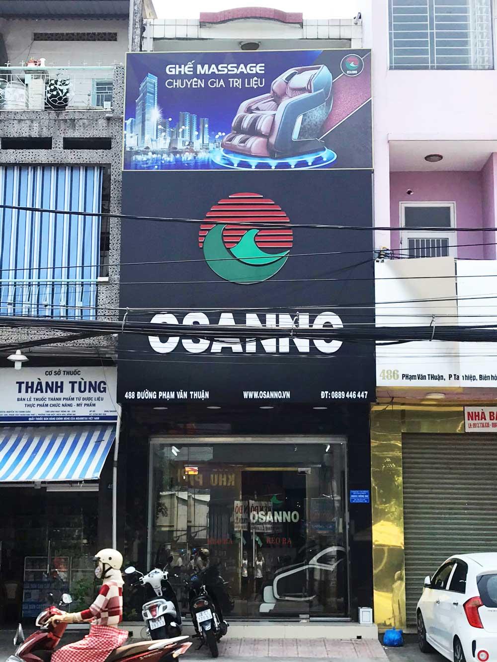 Cửa hàng ghế massage tại Biên Hòa
