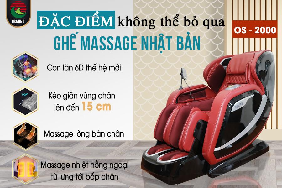ghế massage Nhật Bản cao cấp tại tphcm