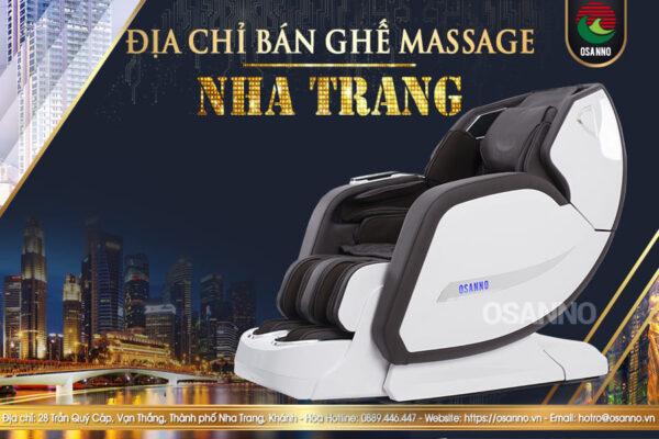 Địa chỉ bán ghế mát xa ở Nha Trang