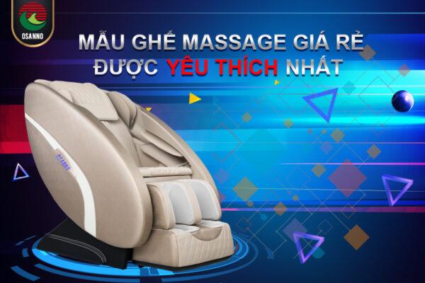 Osanno OS 100 – Ghế massage giá rẻ được yêu thích nhất