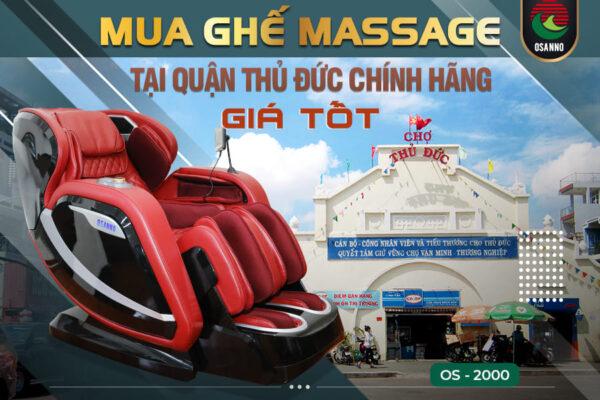Mua ghế massage tại Quận Thủ Đức chính hãng giá tốt