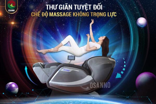 Ghế massage không trọng lực – Cho cảm giác thư giãn tuyệt vời