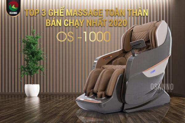 Top 3 ghế massage toàn thân tốt nhất hiện nay